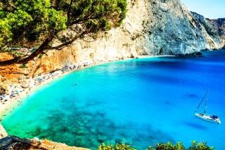 lefkada-pegasos hotel-beach
